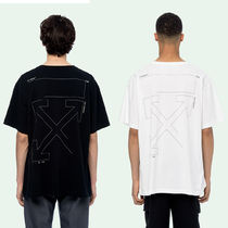 OFF WHITE 19FW UNFINISHED ARROWS S/S OVER TEE