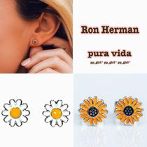 関送込* ★Ron Herman★ SUNFLOWER STUD EARRINGS ピアス