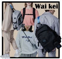 送料・関税込☆WAIKEI★Steady Line Color Strap 4-Way Backpack