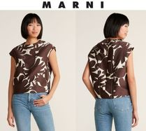 [関税・送料込] MARNI☆Sleeveless Jacquard Blouse
