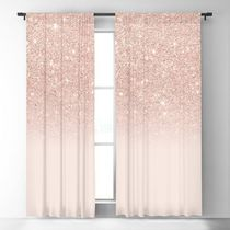 日本未入荷・送料無料 Rose gold faux glitter pink ombre color