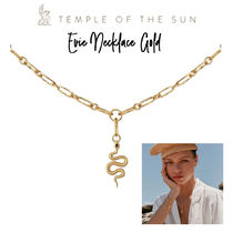 【TEMPLE OF THE SUN】Evie Necklace Gold ゴールドネックレス