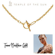 【TEMPLE OF THE SUN】Tessa Necklace Gold ゴールドネックレス