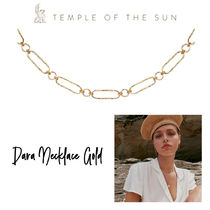 【TEMPLE OF THE SUN】Dara Necklace Gold ゴールドネックレス
