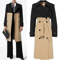 BB342 TWO-TONE RECONSTRUCTED TRENCH COAT