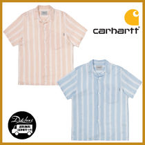 CARHARTT WIP S/S CHESTER SHIRT CHESTER STRIPE MG373 追跡付