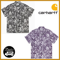 CARHARTT WIP S/S COLLAGE SHIRT COLLAGE PRINT MG374 追跡付