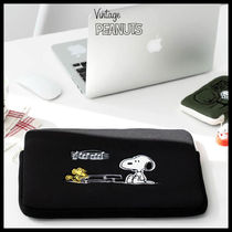 ◆PEANUTS◆ SNOOPY NOTEBOOK POUCH (全4色) 15インチ PCポーチ