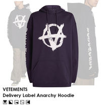 【SS20/人気!】VETEMENTS Delivery Label  アナーキー パーカー