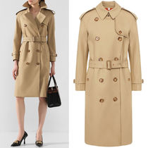BB347 ARCHIVE PRINT-LINED COTTON GABARDINE TRENCH COAT