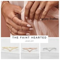 THE FAINT HEARTED(ザフェイントハーテッド) 指輪・リング 送料関税込【THE FAINT HEARTED】V ring/3color