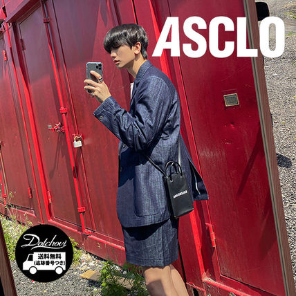 ASCLO セットアップ ASCLO Can Denim Linen Washing Set Up JH192/追跡付