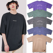 ★UNDERBASE★Harry Pigment Wash Short Sleeved T Shirt 6色