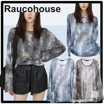 Raucohouse(ラウコハウス) Tシャツ・カットソー ★送料・関税込★Raucohouse★LOOSE TIE-DYE MESH TOP★