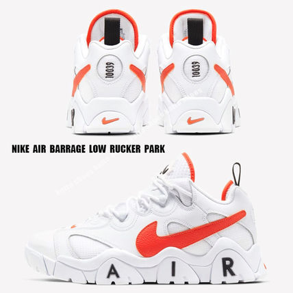 NIKE★AIR BARRAGE LOW RUCKER PARD★レトロ★WHITE/TEAM ORANGE