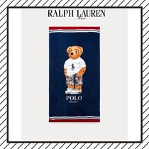 SALE★RALPH LAUREN★Madrasベアービーチタオル