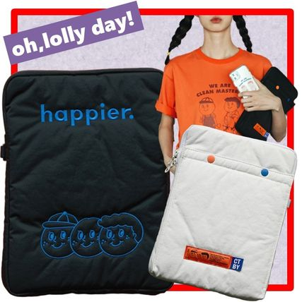 oh lolly day スマホケース・テックアクセサリー ☆韓国の人気☆oh, lolly day☆OBL☆ Tablet PC pouch 2colors☆
