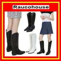 [Raucohouse]  PURE LONG WESTERN BOOTS //追跡付