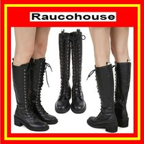 [Raucohouse]  LACE UP BOOTS //追跡付