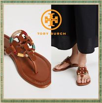 Tory Burch★Miller Embroidered Sandal ビーチサンダル