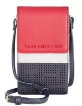 Tommy Hilfiger Callie Perforated Phone クロスボディバック