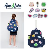 Ame&lulu(アメアンドルル) テニス小物・バッグ 【Ame&lulu】●テニス●キッズバックパック●LITTLE PATCHES