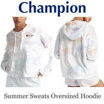 US発☆【Champion】Summer Sweats Cloud Dye フーディ