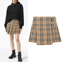 BB354 VINTAGE CHECK WOOL KILT