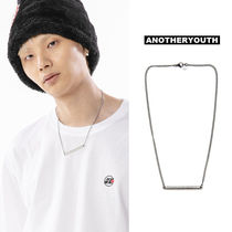 ANOTHERYOUTH(アナザーユース) ネックレス・チョーカー ANOTHERYOUTH正規品★20SS★バーペンダントネックレス