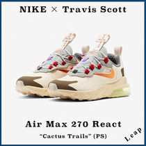 "【Nike×Travis Scott】Air Max 270 React ""Cactus Trails"" PS"