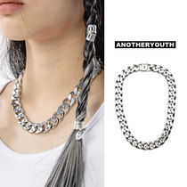 ANOTHERYOUTH(アナザーユース) ネックレス・ペンダント ANOTHERYOUTH正規品★20SS★ロゴチェーンネックレス