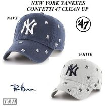 [RON HERMAN]取扱 NEW YORK YANKEES CONFETTI '47 CLEAN UP 帽子