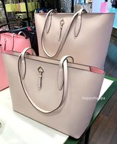 【kate spade】新色!adel large tote☆A4収納