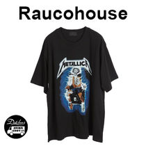 Raucohouse DIGITAL METALLICA PRINTING 1/2 T JH213/追跡付