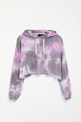 Urban Outfitters ルームウェア・パジャマ Urban Outfitters Tie-Dye Hoodie タイダイ フリース フーディー(2)