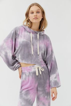 Urban Outfitters ルームウェア・パジャマ Urban Outfitters Tie-Dye Hoodie タイダイ フリース フーディー(3)