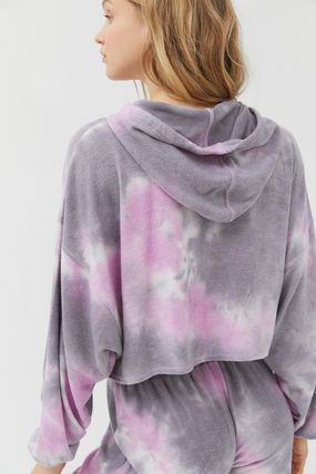 Urban Outfitters ルームウェア・パジャマ Urban Outfitters Tie-Dye Hoodie タイダイ フリース フーディー(4)