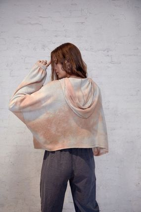 Urban Outfitters ルームウェア・パジャマ Urban Outfitters Tie-Dye Hoodie タイダイ フリース フーディー(5)