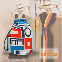 """HERMES エルメス★バックパック """"Carre Taquin"""""""