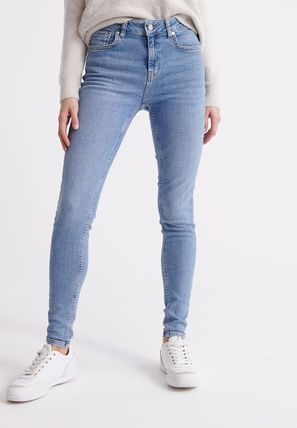 Superdry(極度乾燥しなさい) デニム・ジーパン ☆関税返金☆Superdry SUPERDRY MID RISE SKINNY JEANS ジーンズ