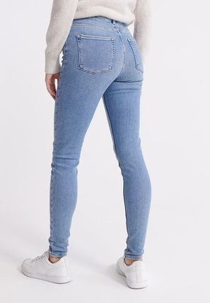 Superdry(極度乾燥しなさい) デニム・ジーパン ☆関税返金☆Superdry SUPERDRY MID RISE SKINNY JEANS ジーンズ(3)