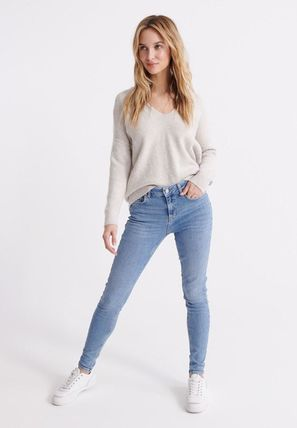 Superdry(極度乾燥しなさい) デニム・ジーパン ☆関税返金☆Superdry SUPERDRY MID RISE SKINNY JEANS ジーンズ(2)
