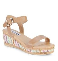 【Steve Madden】Girl's Jbora Wedge Sandals/ウェッジサンダル