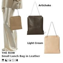 【SS20/関税込】THE ROW Small Lunch レザー バッグ 2color