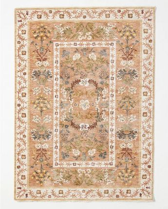 ★アンソロポロジーとRifle Paper Co.★Arabesque Camel Rug 5x8