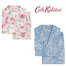 UK発!【Cath Kidston】Lindfield Meadow ロング パジャマセット