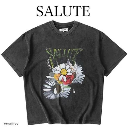 ◆NEW◆SALUTE◆ FLOWER ANARCHY Tシャツ