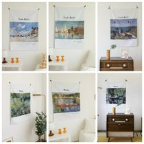 【MARY HOUSE】 Famous paintings Fabric poster (70*100cm)