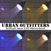 Urban Outfitters★Brilliant Ideas LEDシャワーヘッド