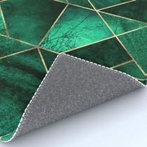 日本未入荷・送料無料 Abstract Nature - Emerald Green Rug